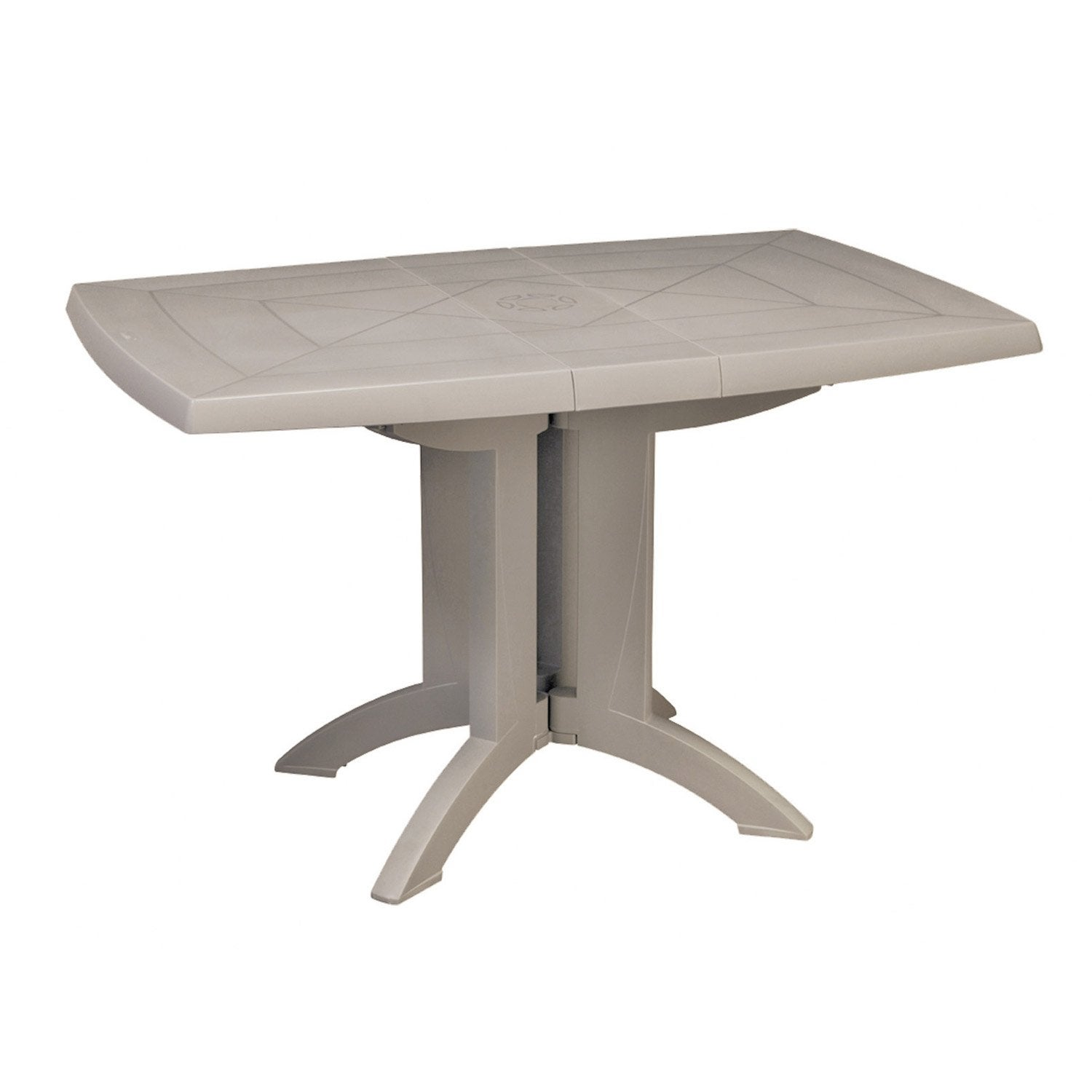 Table de jardin grosfillex v ga rectangulaire lin 4 personnes leroy merlin - Table jardin grofilex besancon ...