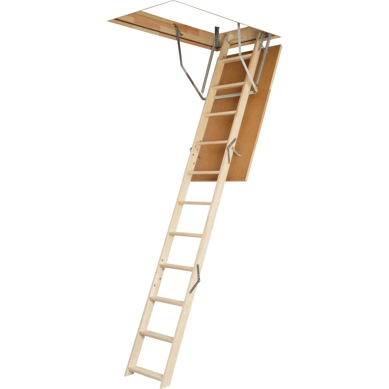 Antidérapant Escalier Bois Leroy Merlin - Escalier escamotable droit structure bois marche bois Leroy Merlin