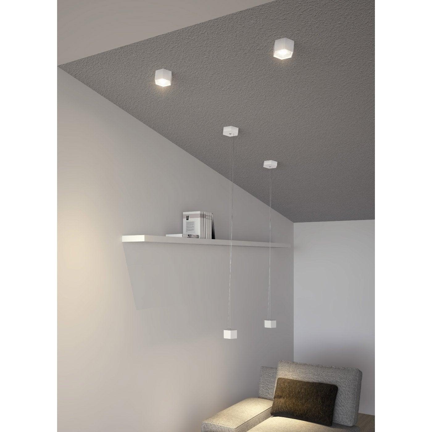 plafonnier salle de bain leroy merlin top attrayant. Black Bedroom Furniture Sets. Home Design Ideas