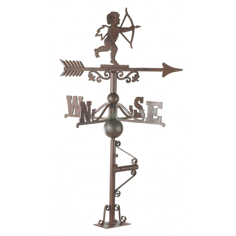 girouette ch rubin en fer forg 25 cm leroy merlin. Black Bedroom Furniture Sets. Home Design Ideas