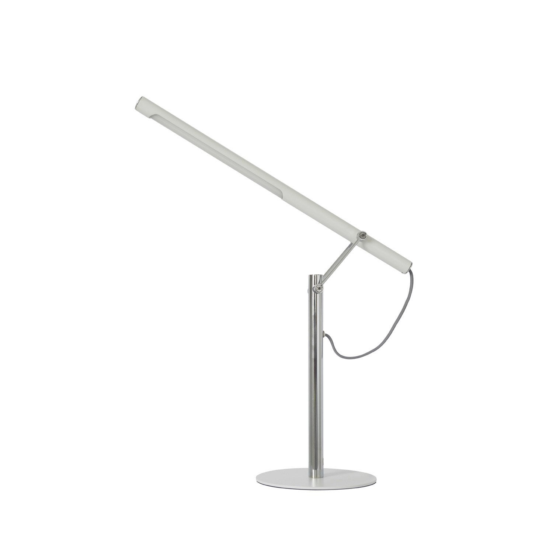 lampe de bureau led int gr e poser acier led mu inspire leroy merlin. Black Bedroom Furniture Sets. Home Design Ideas