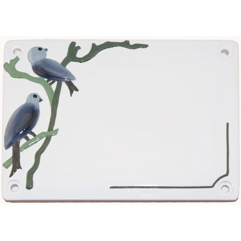 plaque oiseaux en r sine leroy merlin. Black Bedroom Furniture Sets. Home Design Ideas