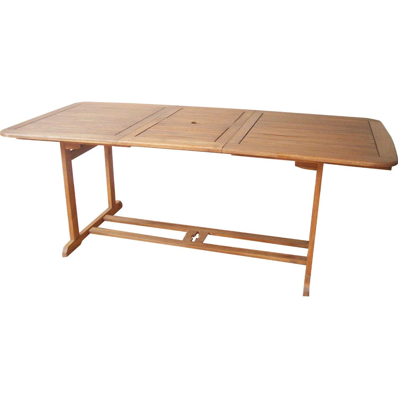 Table de jardin rectangulaire porto naterial leroy merlin - Leroy merlin table jardin ...