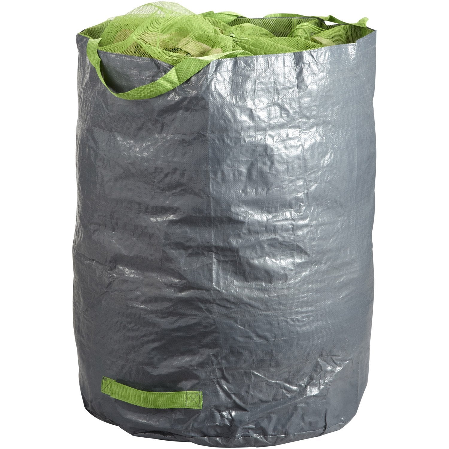 Sac v g taux gazon feuilles r utilisable geolia 270 l - Big bag terre vegetale leroy merlin ...