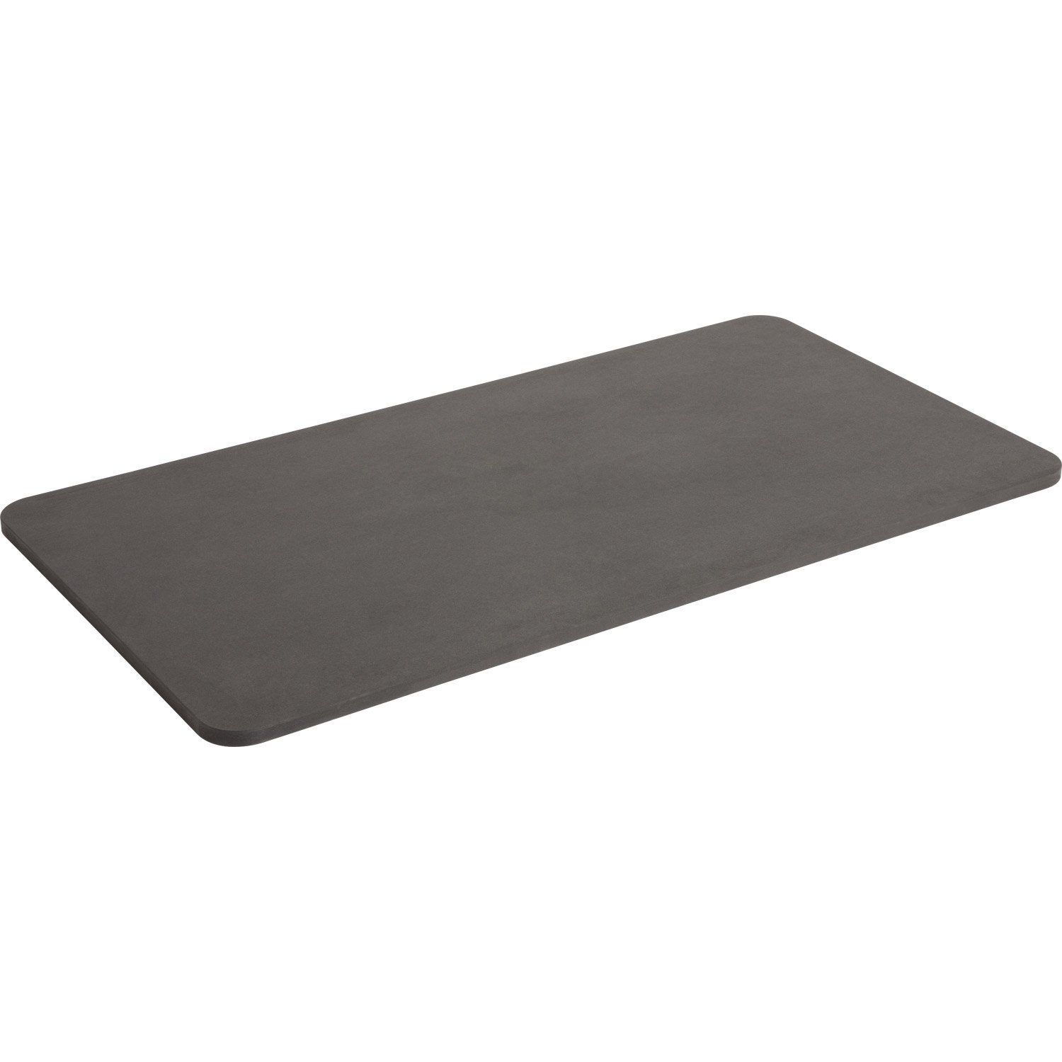Plateau de table mdf gris l120 cm x l62 6 cm x p 19 mm leroy merlin - Plaque mdf leroy merlin ...