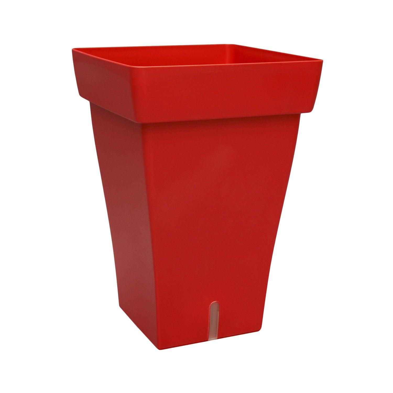 bac plastique r serve d 39 eau bhr x x cm rouge leroy merlin. Black Bedroom Furniture Sets. Home Design Ideas