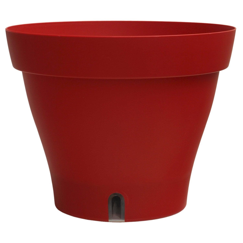 bac plastique r serve d 39 eau bhr x cm rouge leroy merlin. Black Bedroom Furniture Sets. Home Design Ideas