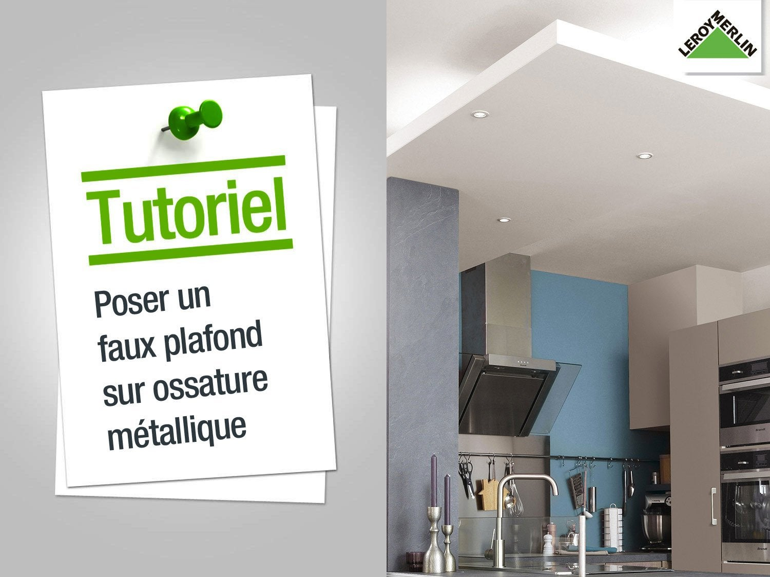 Comment monter un faux plafond 28 images installer un for Faire un faux plafond en bois