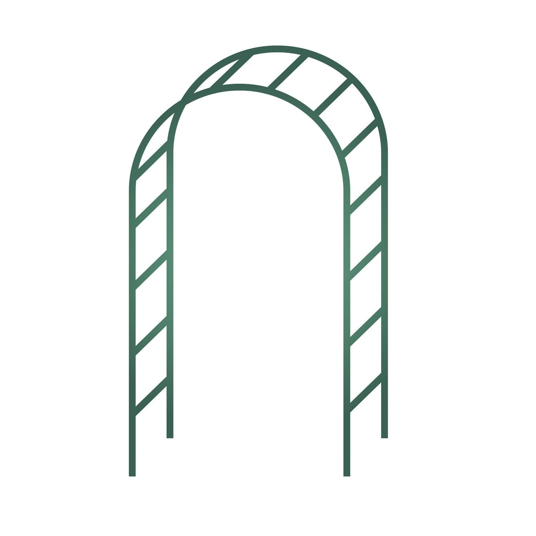 arceau double egt garden x x cm leroy