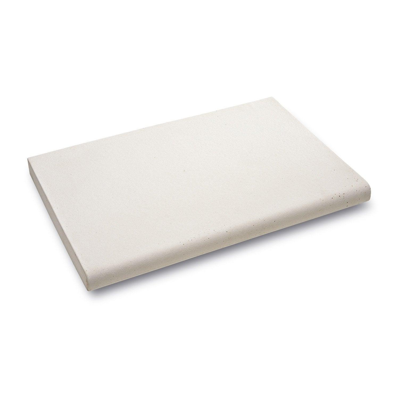 margelle oc ane en pierre reconstitu e blanc cass x. Black Bedroom Furniture Sets. Home Design Ideas