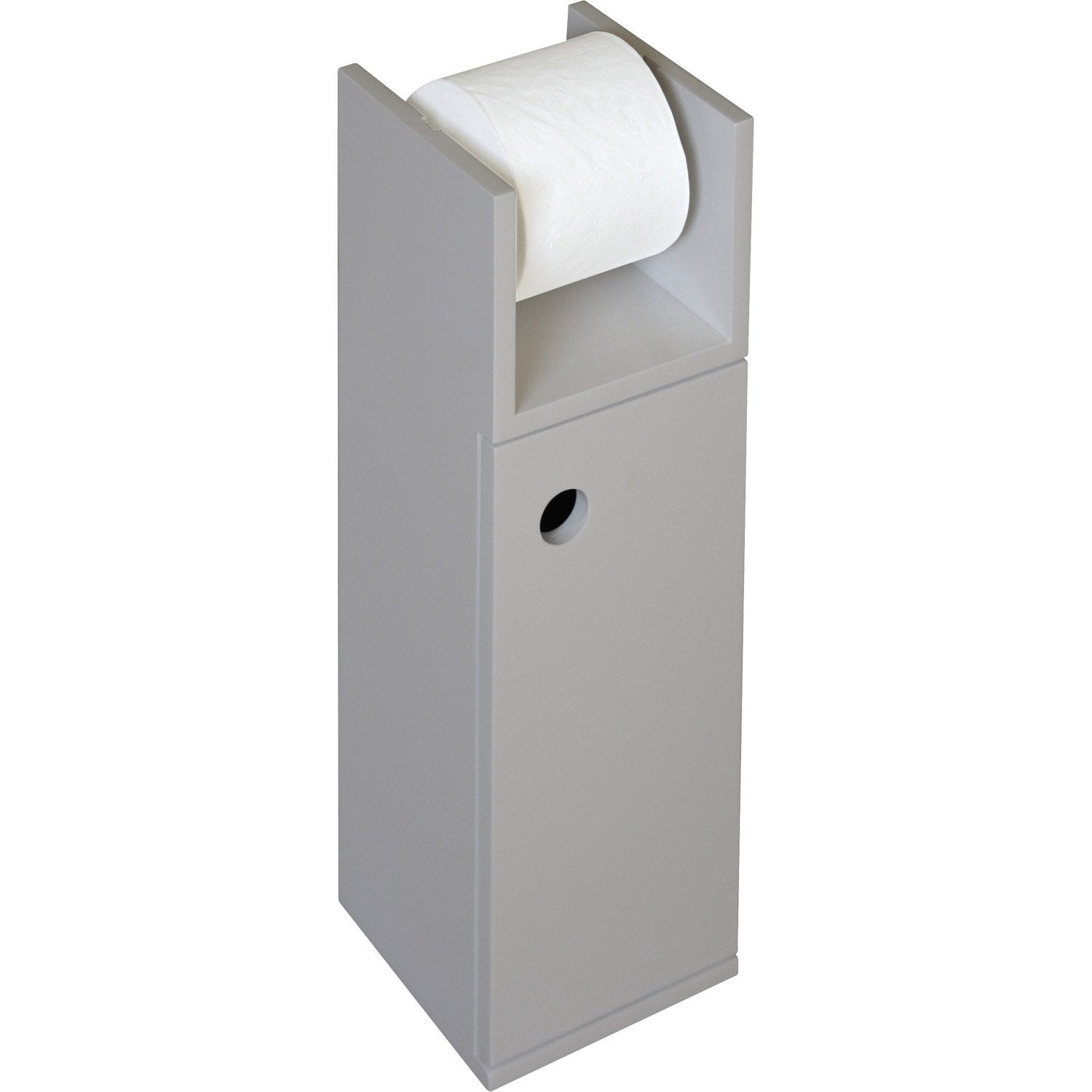 Meuble papier toilette for Meuble wc gifi