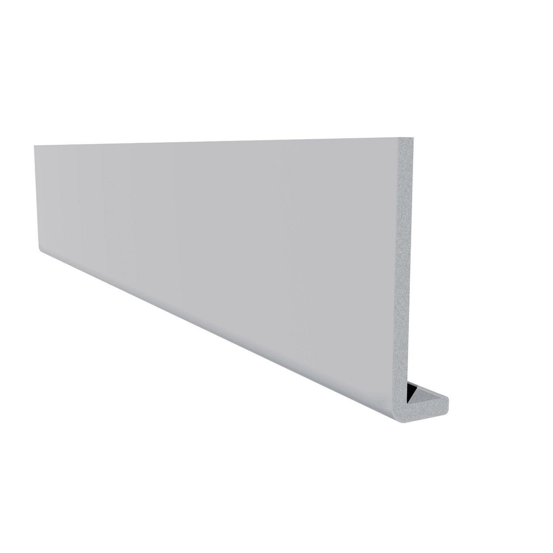 bandeau de rive blanc 225mm long 3m leroy merlin. Black Bedroom Furniture Sets. Home Design Ideas
