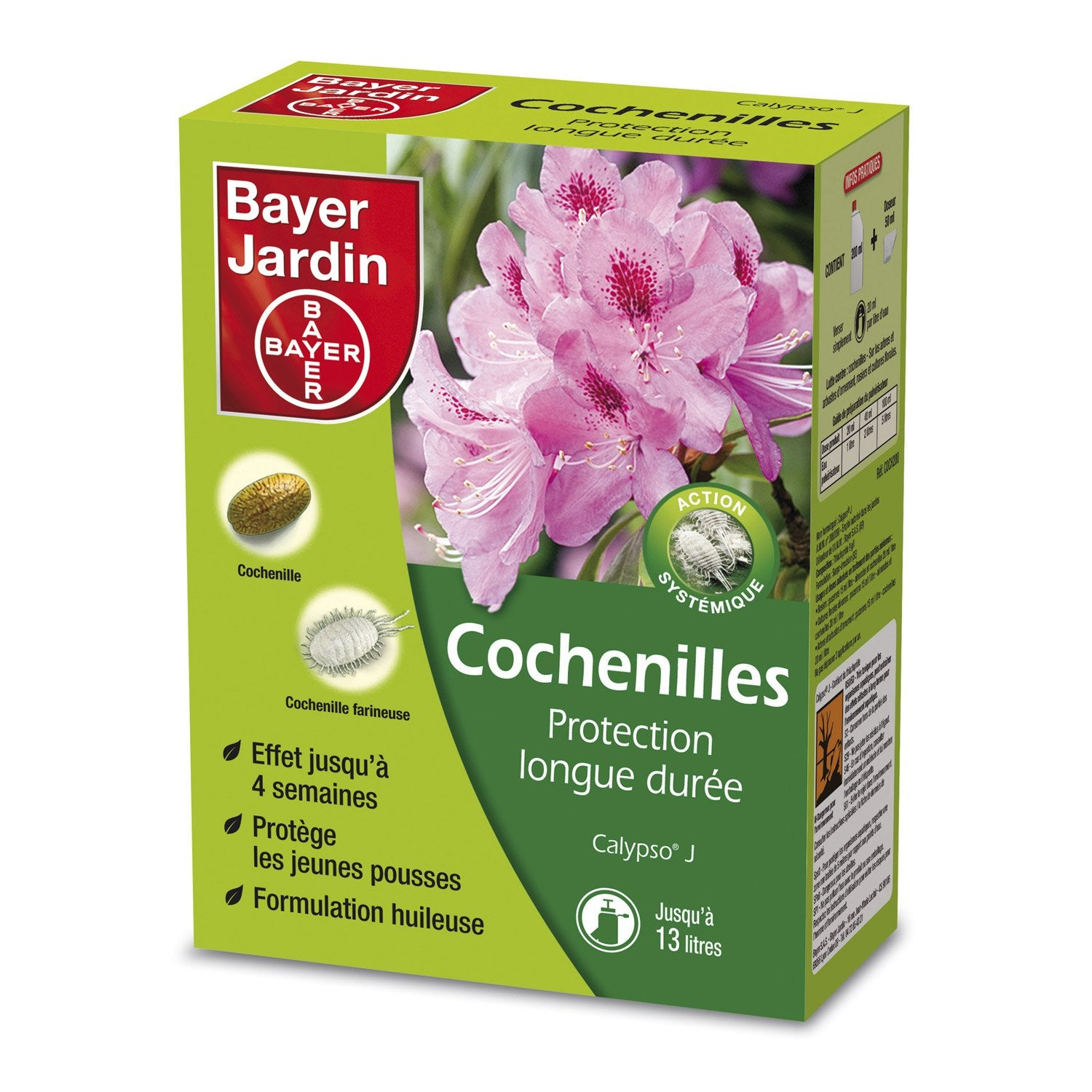 Insecticide cochenilles bayer 200ml leroy merlin for Bayer jardin produits insecticides