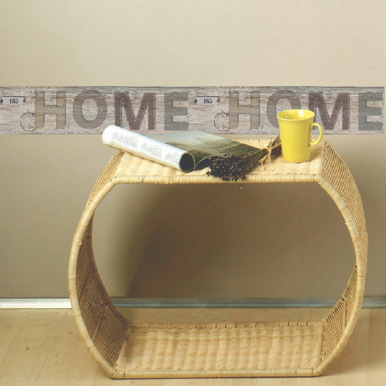 Frise vinyle adh sive home longueur 5 m leroy merlin - Leroy merlin frise adhesive ...