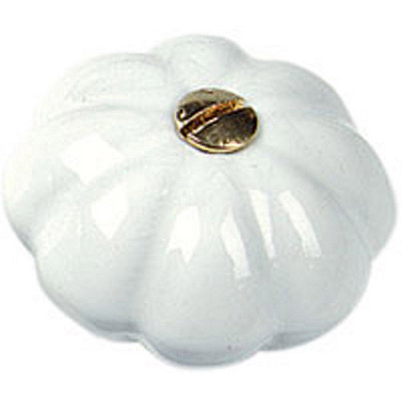 bouton de meuble en porcelaine de limoges naturel s rie. Black Bedroom Furniture Sets. Home Design Ideas