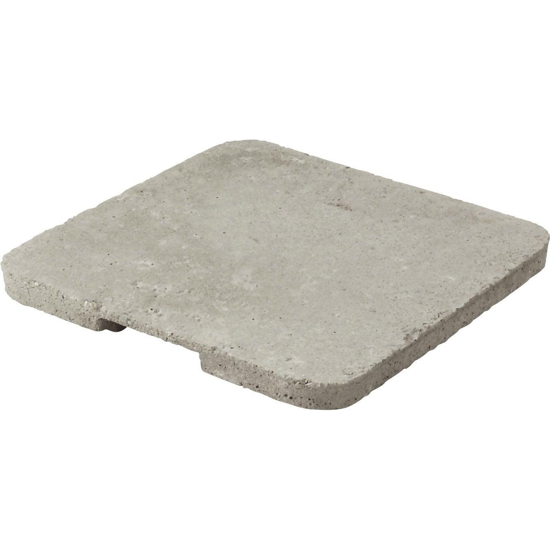 Couvercle b ton gris legouez x cm leroy merlin - Poutre beton leroy merlin ...