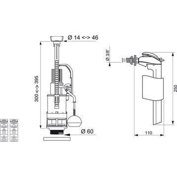 robinet chasse d eau robinet chasse d eau sur enperdresonlapin. Black Bedroom Furniture Sets. Home Design Ideas