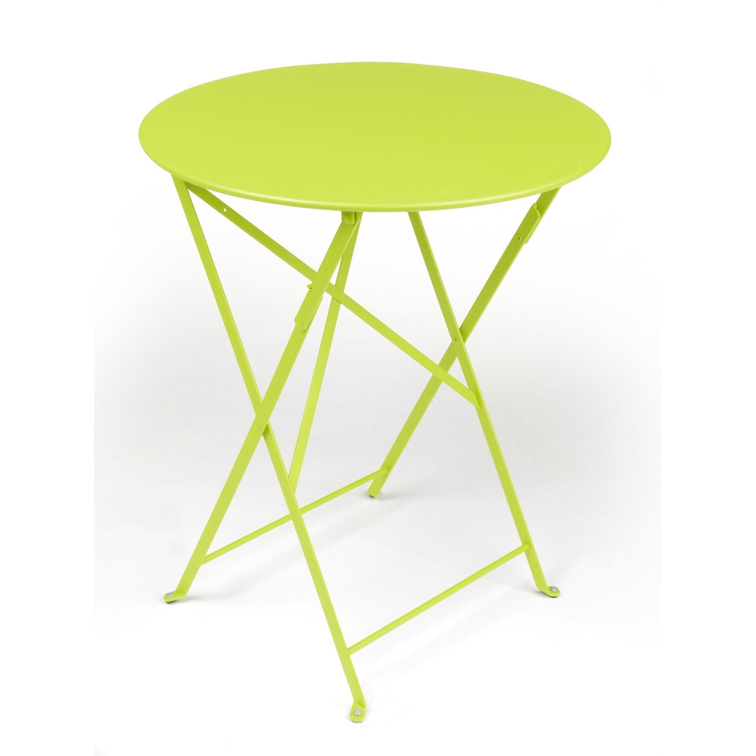 Table Ronde Fermob Elegant Costa By Fermob Guridon Haut Blanc Coton With Table Ronde Fermob