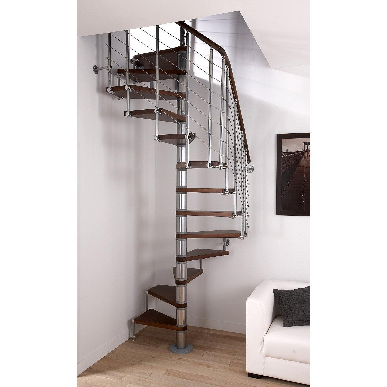Escalier colima on carr cubeline structure m tal marche for Escalier exterieur metal leroy merlin