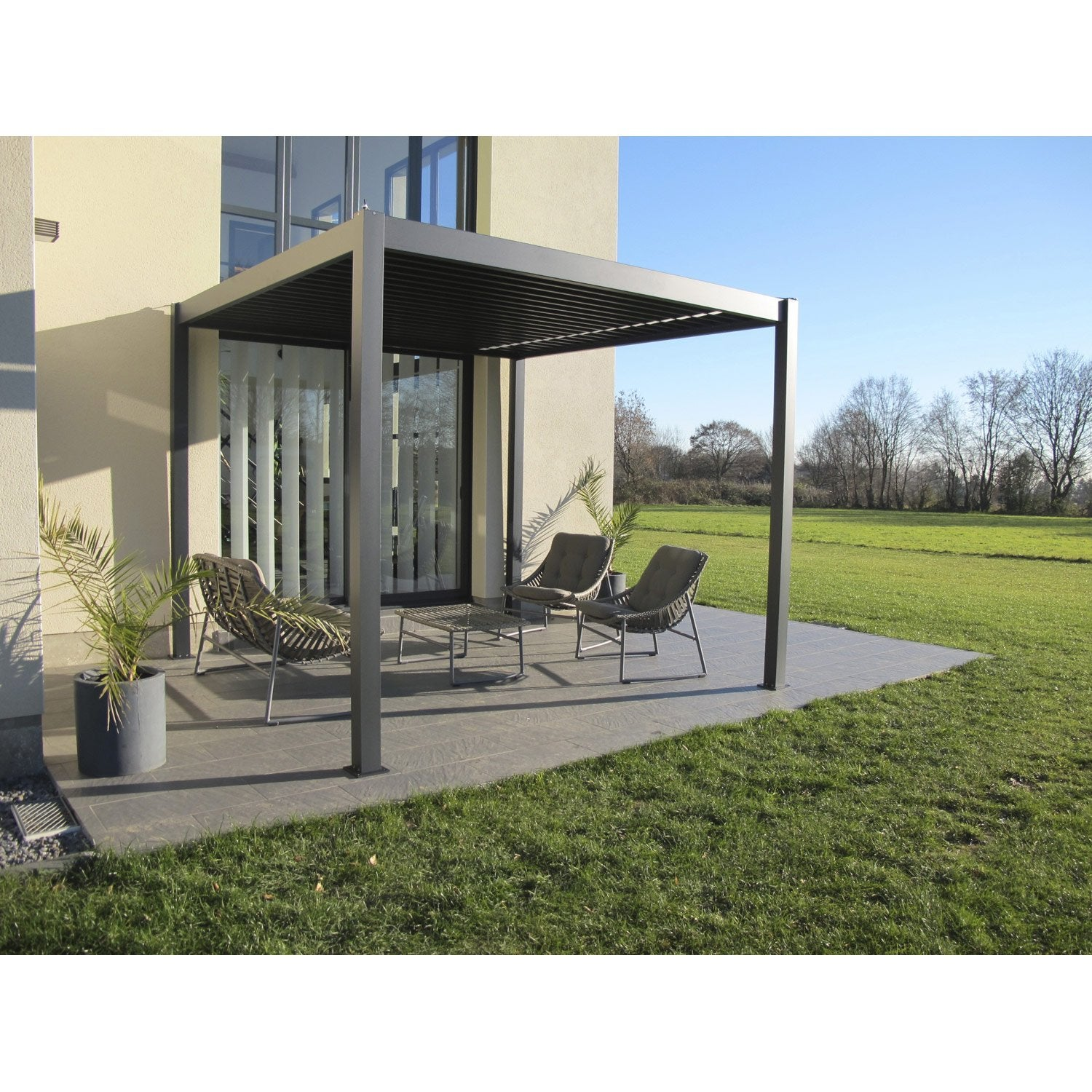 pergola a leroy merlin samling av de senaste. Black Bedroom Furniture Sets. Home Design Ideas