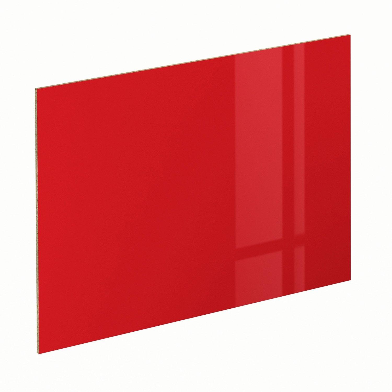 Panneau pour porte de placard coulissante spaceo cm rouge leroy - Porte coulissante rouge ...