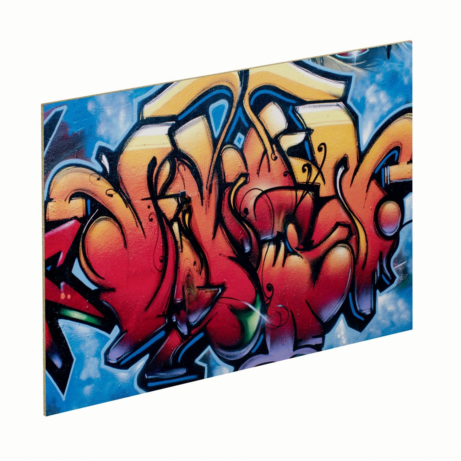 Panneau glossy graffiti spaceo leroy merlin - Graffiti leroy merlin behang ...