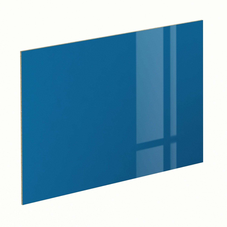 panneau pour porte de placard coulissante spaceo cm bleu leroy merlin. Black Bedroom Furniture Sets. Home Design Ideas