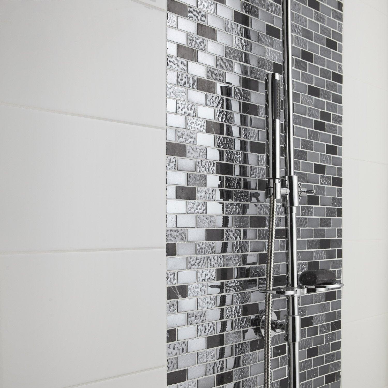 Salle de bain faience blanche - Faience pour salle de bain leroy merlin ...