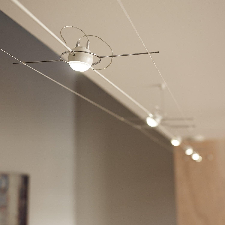 kit c ble led airled ball m tal 4 paulmann leroy merlin. Black Bedroom Furniture Sets. Home Design Ideas