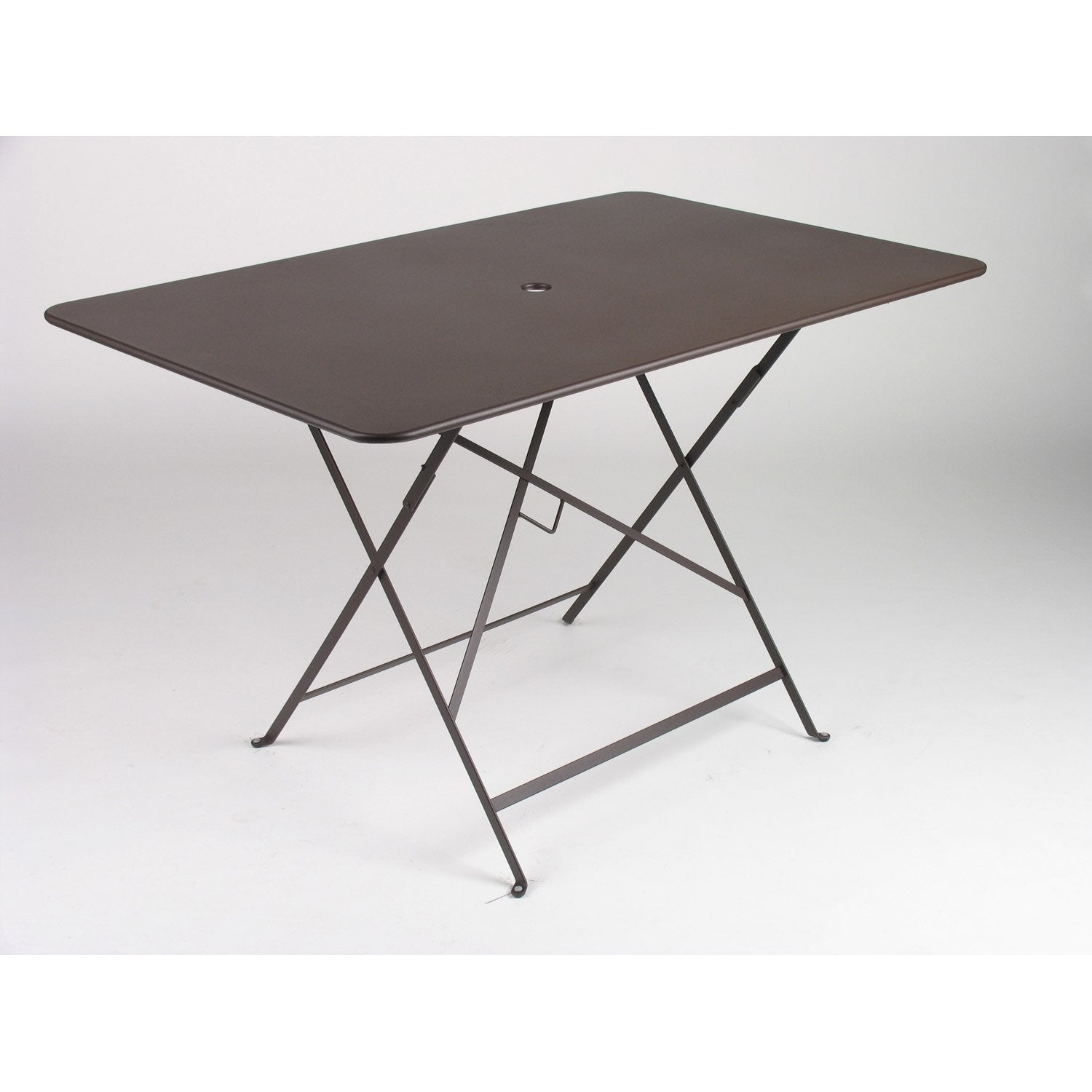 Table de jardin fermob bistro rectangulaire rouille 6 - Leroy merlin table pliante ...
