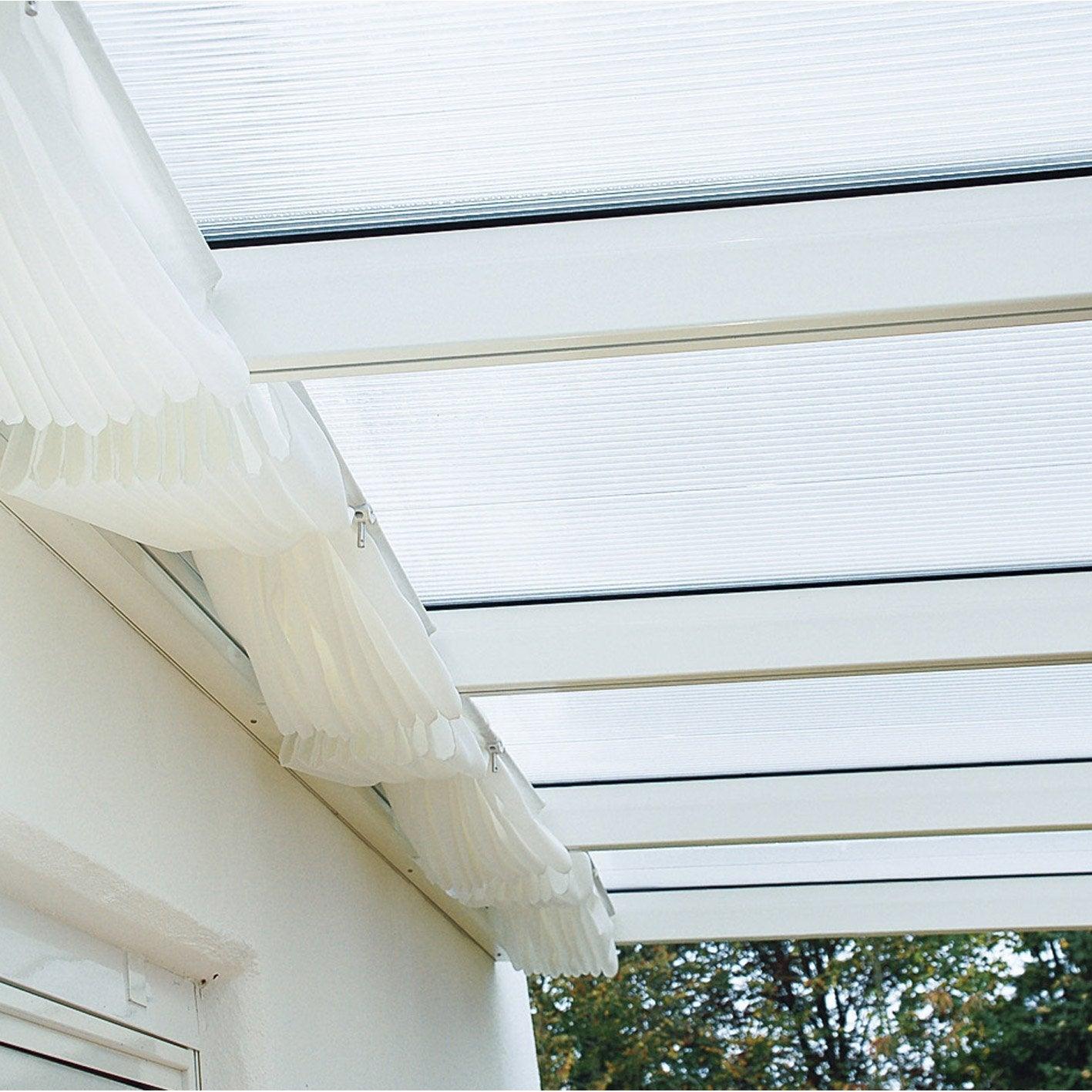 store avec fixations pour toit de terrasse tdo et tdow ideanature leroy merlin. Black Bedroom Furniture Sets. Home Design Ideas