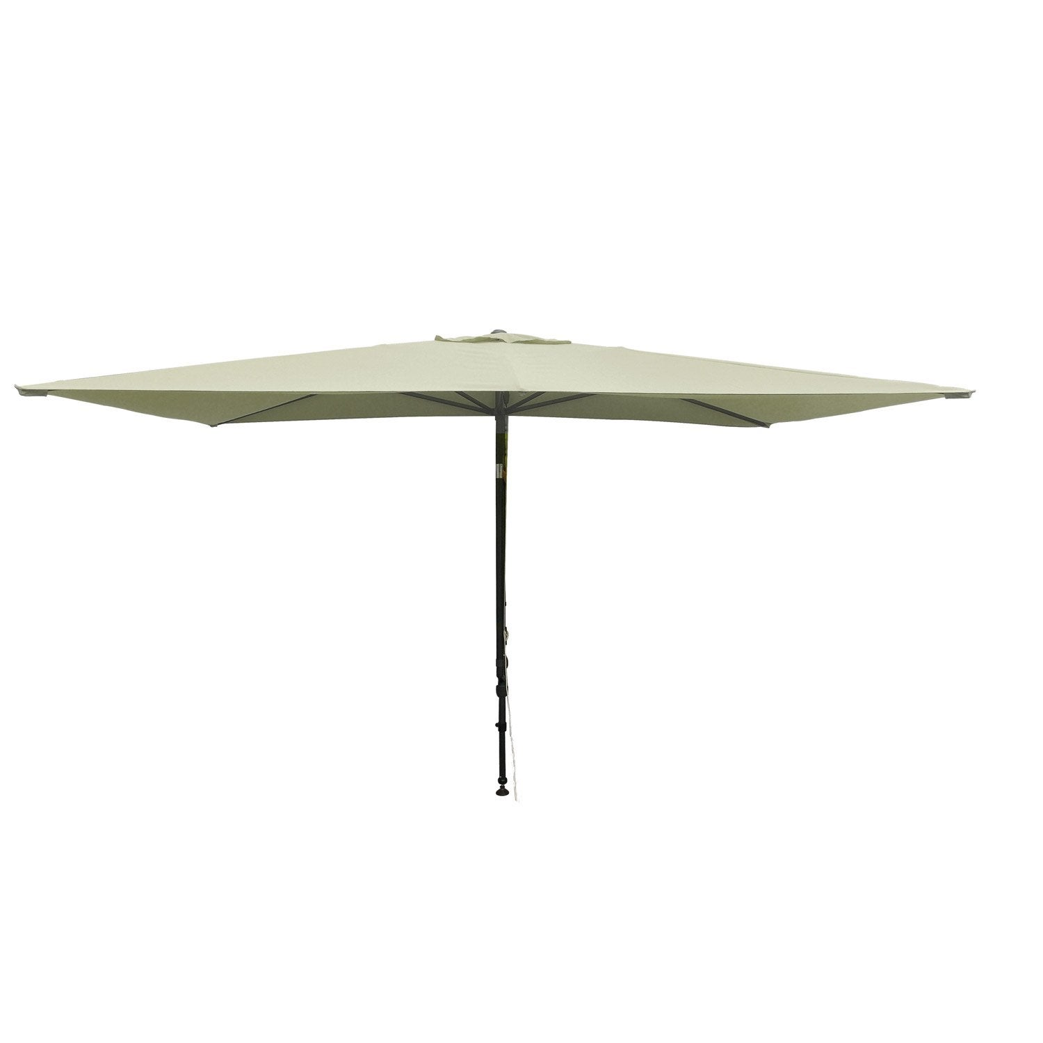 parasol de balcon l o cru 4 5 m leroy merlin. Black Bedroom Furniture Sets. Home Design Ideas