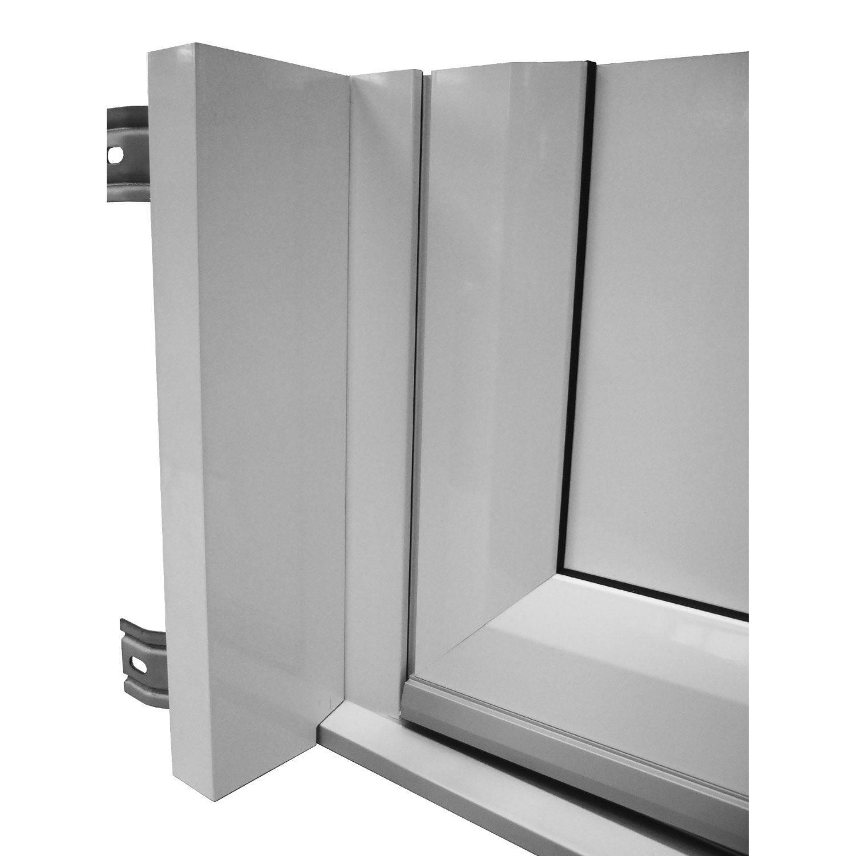 Tap e d 39 isolation pour porte d 39 entr e x cm aluminium artens leroy merlin - Cache porte d entree ...
