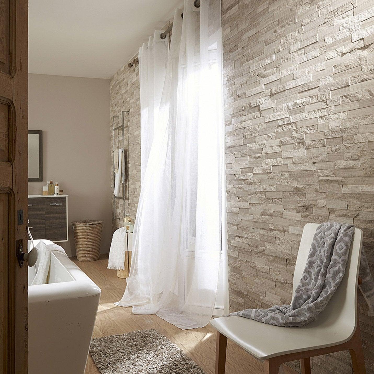 plaquette de parement cottage en pierre naturelle gris. Black Bedroom Furniture Sets. Home Design Ideas