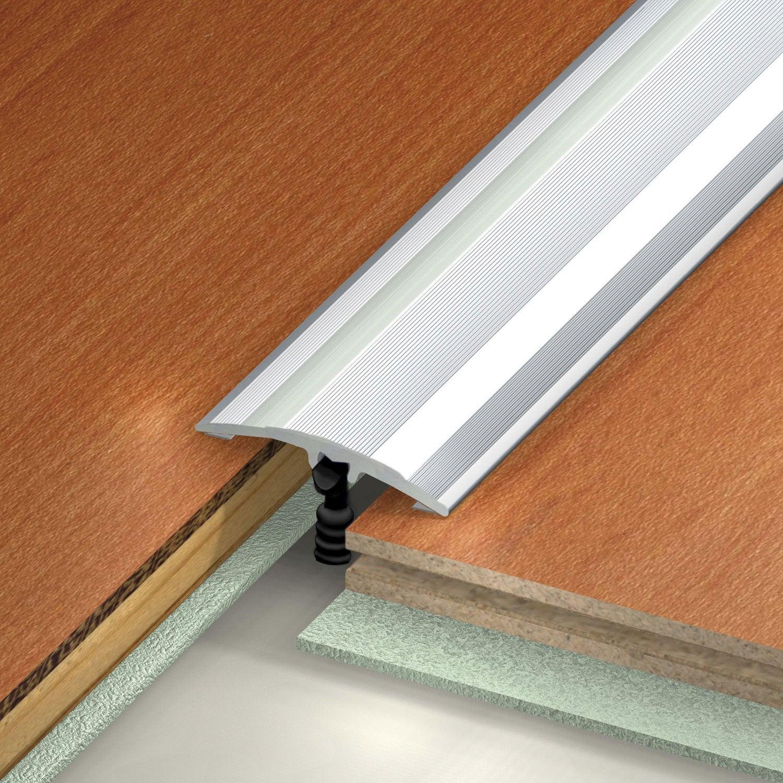 Barre de seuil multi niveaux en aluminium dinac gris 27 - Barre de seuil alu exterieur ...