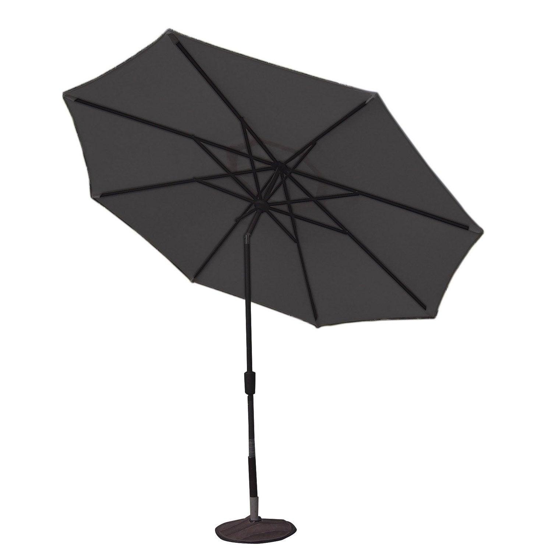 parasol droit helios gris dor octogonal x cm leroy merlin. Black Bedroom Furniture Sets. Home Design Ideas
