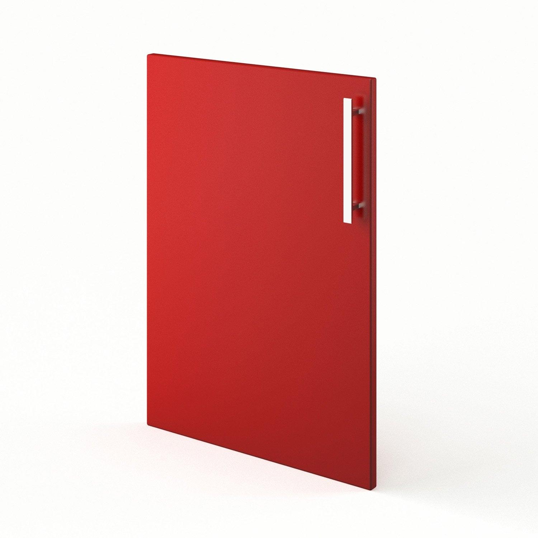 Porte de cuisine rouge f50 d lice l50 x h70 cm leroy merlin - Porte de cuisine leroy merlin ...