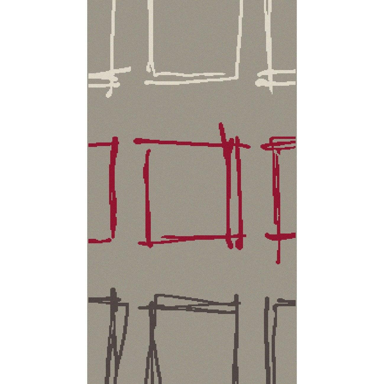 tapis multicolore online x cm leroy merlin. Black Bedroom Furniture Sets. Home Design Ideas