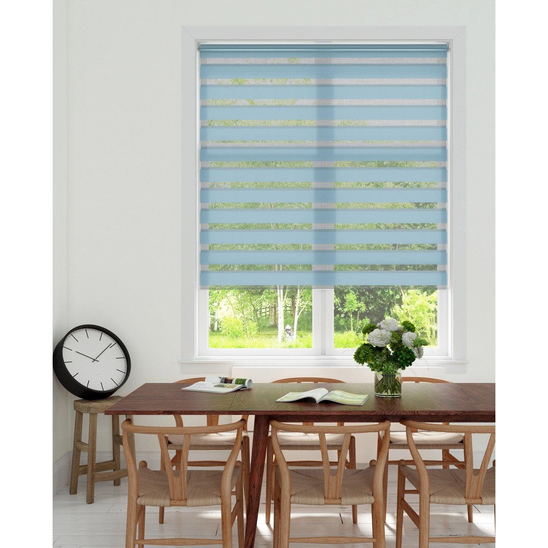 store enrouleur jour nuit inspire bleu 41 x 160 cm. Black Bedroom Furniture Sets. Home Design Ideas