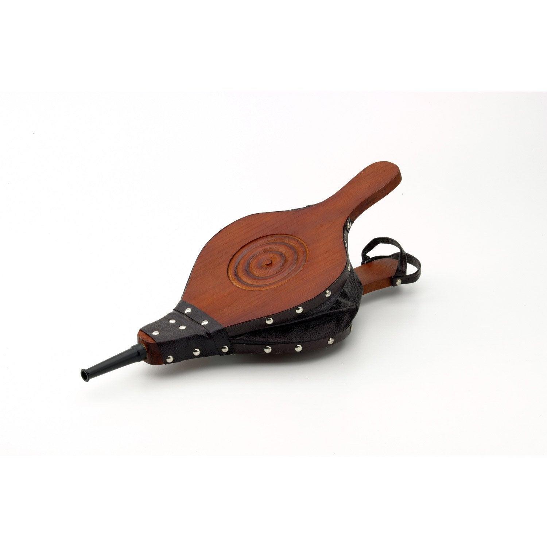 Soufflet en simili cuir atelier dix neuf leroy merlin - Teinture cuir leroy merlin ...