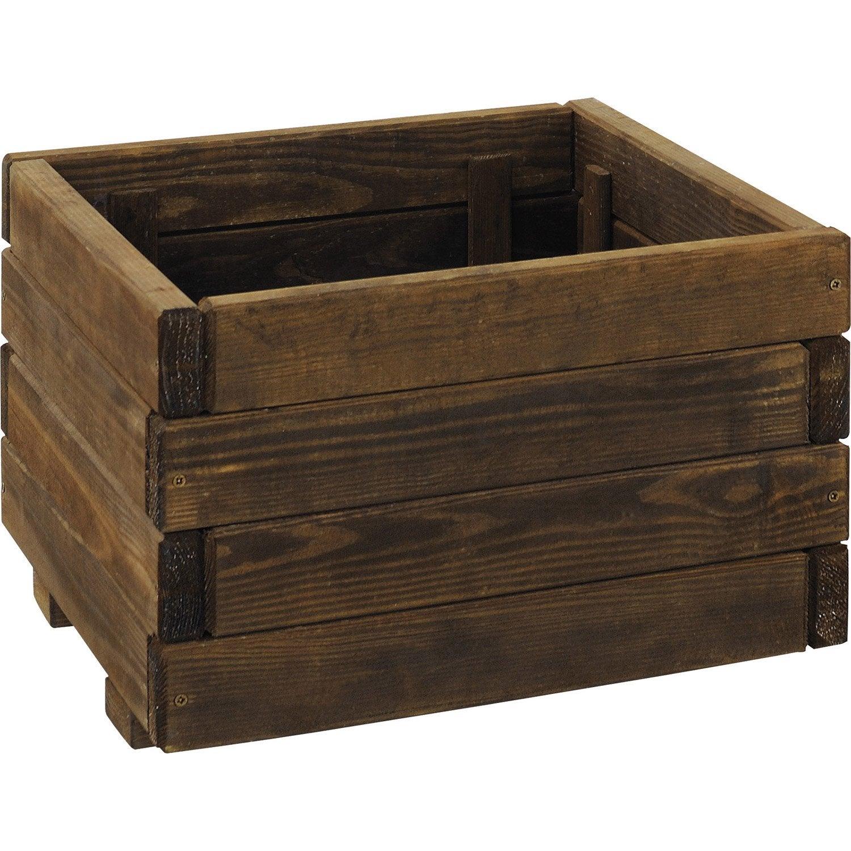 bac en bois burger x x cm leroy merlin. Black Bedroom Furniture Sets. Home Design Ideas