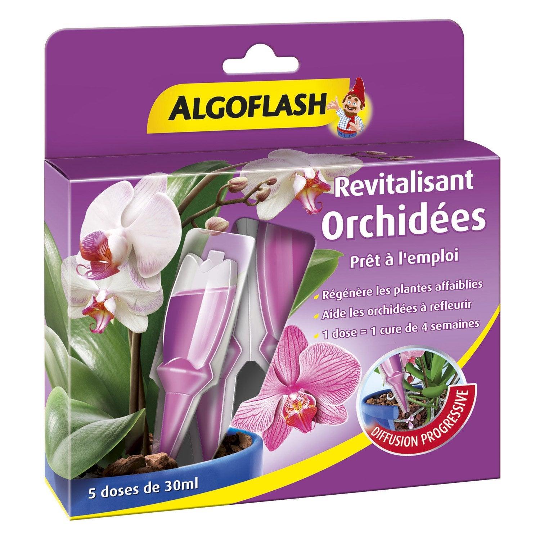 engrais orchid es algoflash 5 monodoses leroy merlin. Black Bedroom Furniture Sets. Home Design Ideas