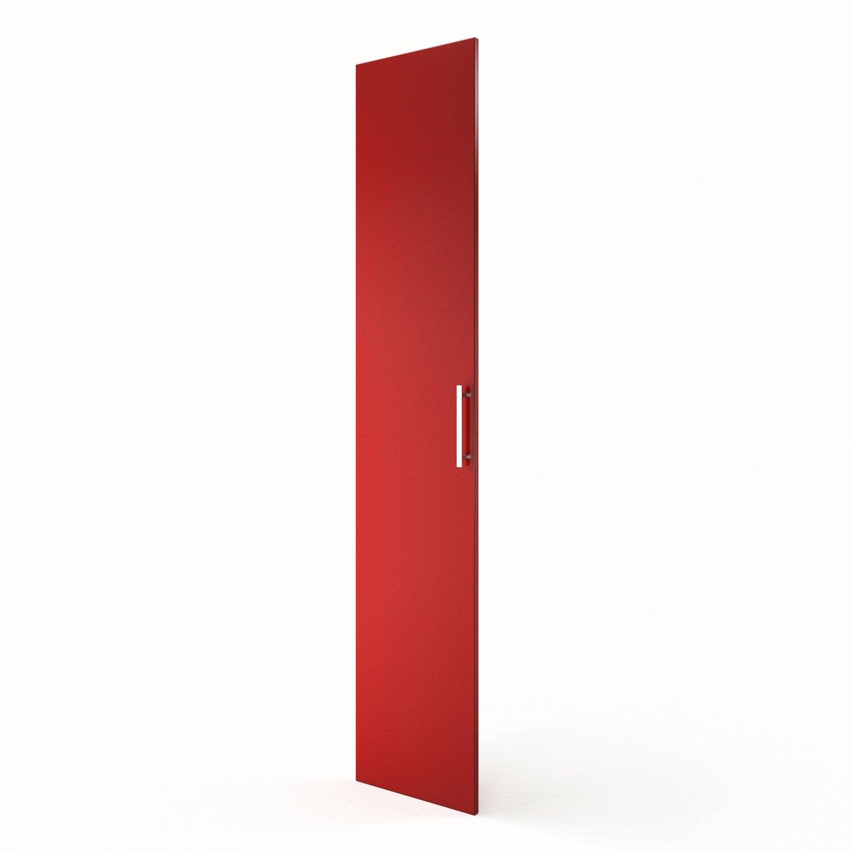 Idee Deco Chambre Bebe Hello Kitty : Porte colonne de cuisine rouge F40200 Délice, L40 X H200 cm  Leroy
