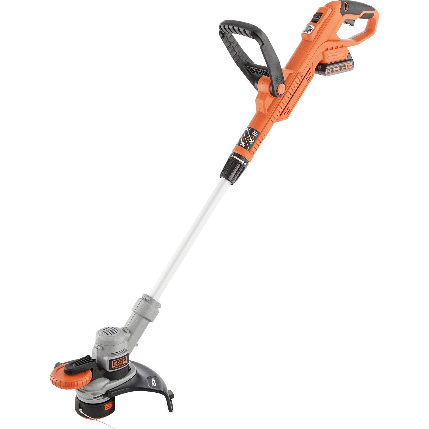 Coupe bordures sur batterie black decker stc1820cm 18 v - Coupe bordure stihl batterie ...