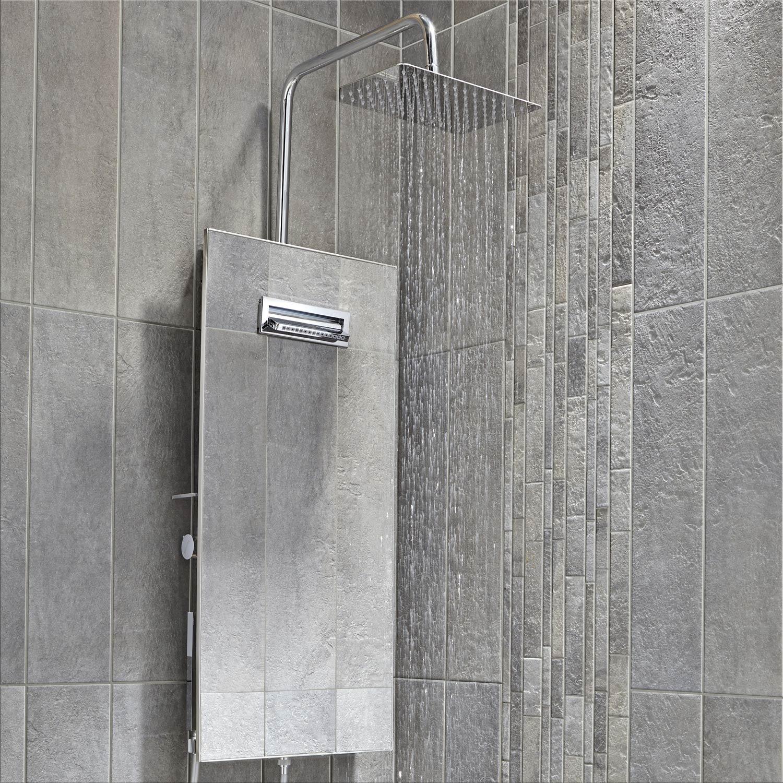 Colonne de douche avec robinetterie valentin totem leroy merlin - Colonne rangement leroy merlin ...