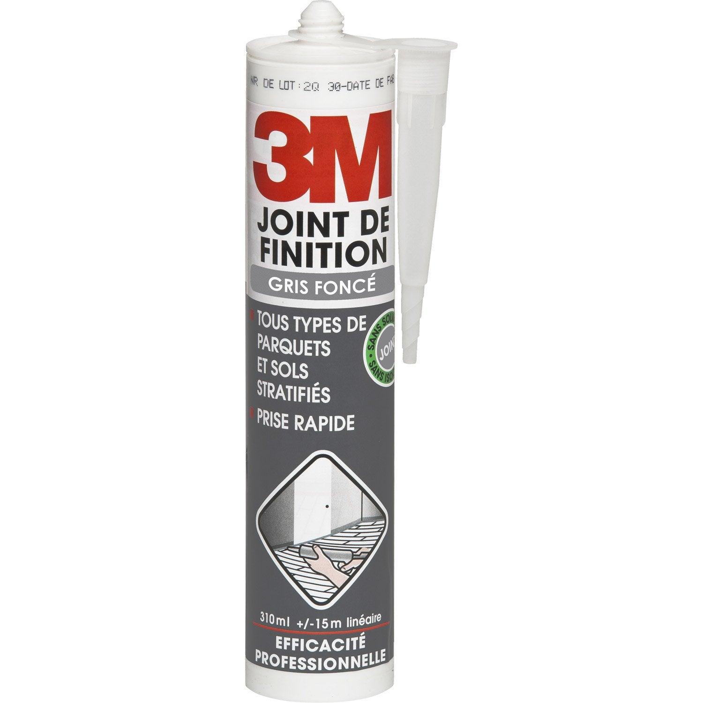 Joint de finition pour plinthes parquets et stratifi s 3m for Joint de couleur pour carrelage