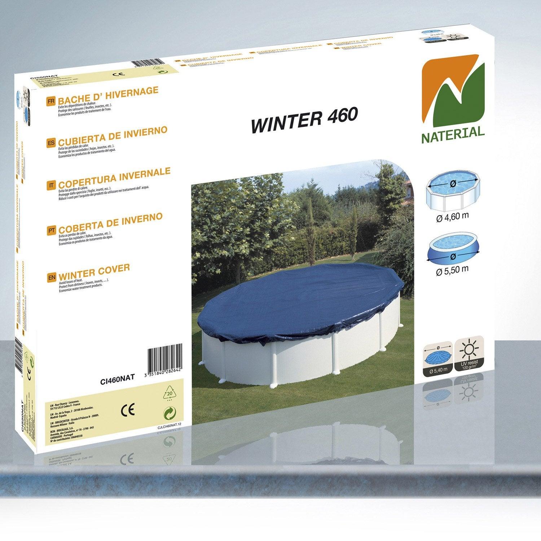 b che hiver pour piscine de diam 4 6 m naterial leroy. Black Bedroom Furniture Sets. Home Design Ideas