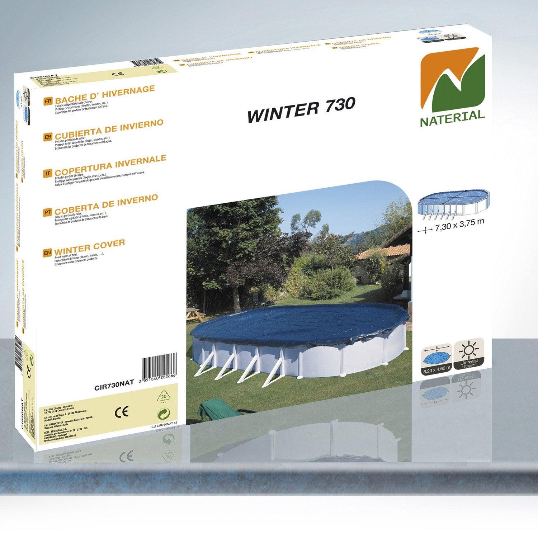 Bâche hiver NATERIAL Bache hiver 7 3x3 75m L 820 x l 460