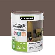 Peinture brun taupe 2 LUXENS Couleurs intérieures satin 2.5 l