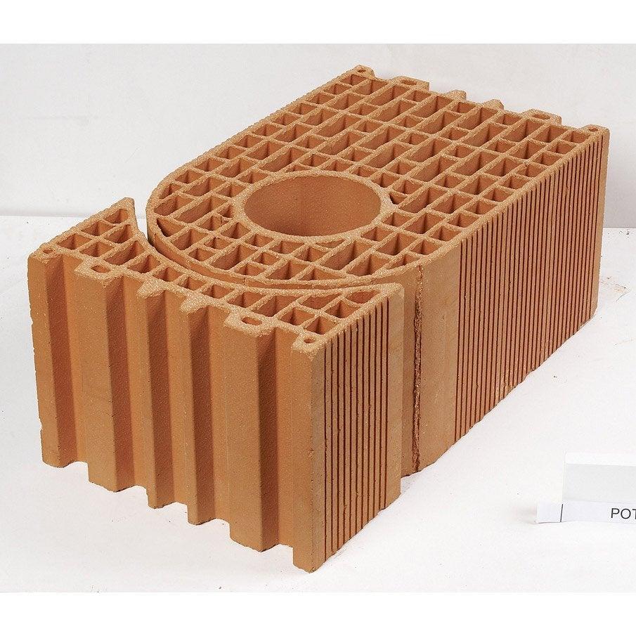 brique poteau cm leroy merlin. Black Bedroom Furniture Sets. Home Design Ideas